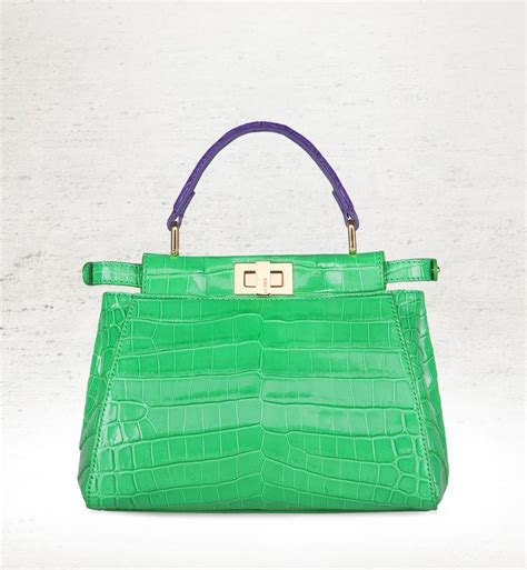 Fashion Croco 389 42 Best Images About Fendi Peekaboo On