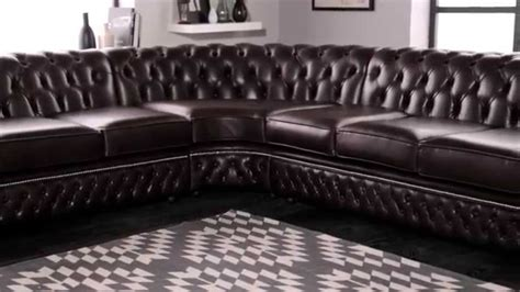 saxon chesterfield sofa chesterfield corner sofa from sofas by saxon youtube