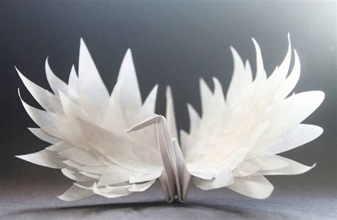 Beautiful Origami - beautiful paper folding cranes by origami enthusiast