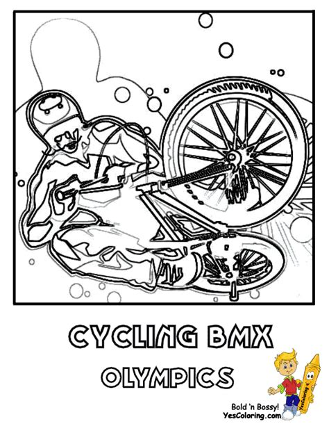 Bmx Coloring Page by Bmx Bikesrk0rsl03rmjnhoso4mvwha3zhrhove Free Colouring Pages