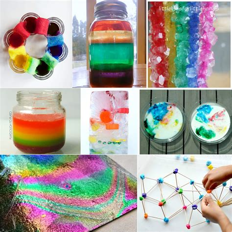 projects for toddlers 25 rainbow activities for playdough to plato