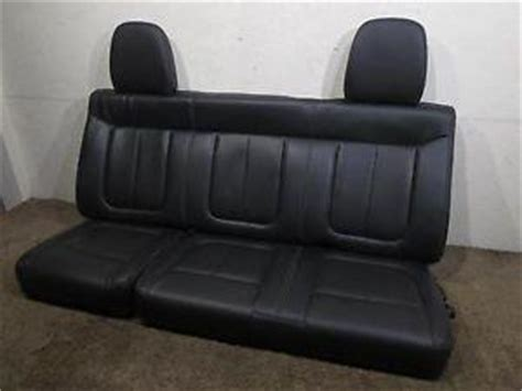 oem ford truck replacement seats replacement ford f150 f 150 oem black leather rear seat