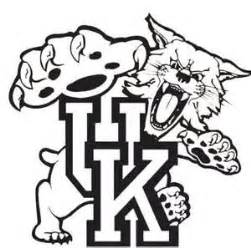 louisville basketball coloring pages kentucky wildcats logo coloring pages sketch coloring page
