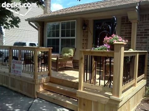 Front Deck Design Ideas by 25 Best Ideas About Front Deck On Deck Small Decks And Simple Deck Ideas