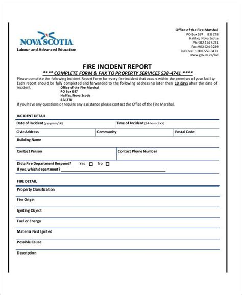 office incident report template incident report sle employee incident report sle