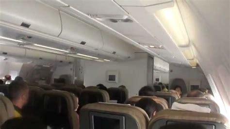 A340 Interior by Inside Swiss Airbus A340 300 Flight Shanghai Zuerich