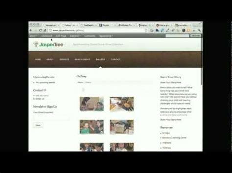 tutorial video gallery wordpress fancy gallery wordpress plugin tutorial youtube