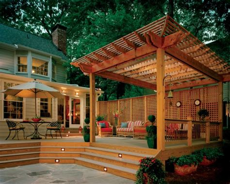 elegant outdoor deck designs   backyard