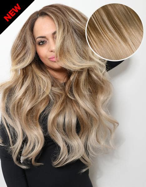 Balayage 160g 20 quot ombre ash brown ash blonde hair extensions bellami hair