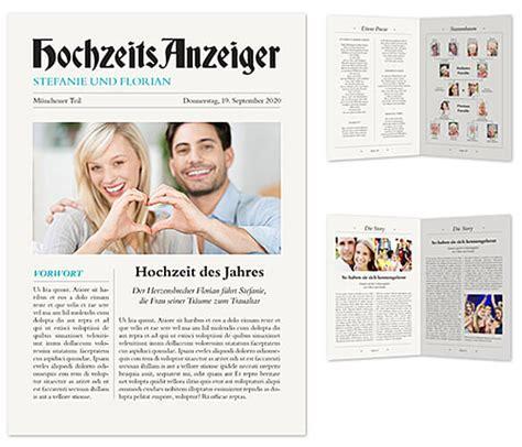 Hochzeit Zeitung by Hochzeitszeitung 15 Besondere Ideen Beispiele