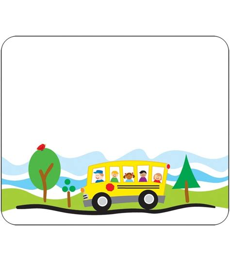 printable bus tags kindergarten 572 best images about borders and frames on pinterest