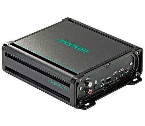 kicker boat kicker 45kma1502 marine audio boat lifier 2 channel 300