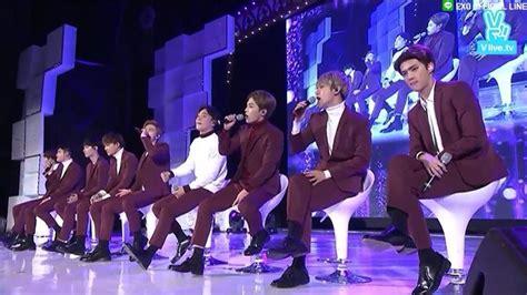 exo vlive exo v live stage comeback k pop amino