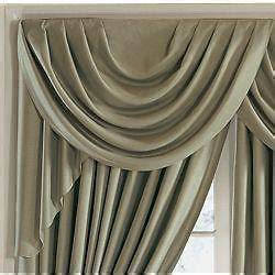 jcpenney supreme drapes jcpenney supreme swag valances 44w x 18l retail 75 00 ebay
