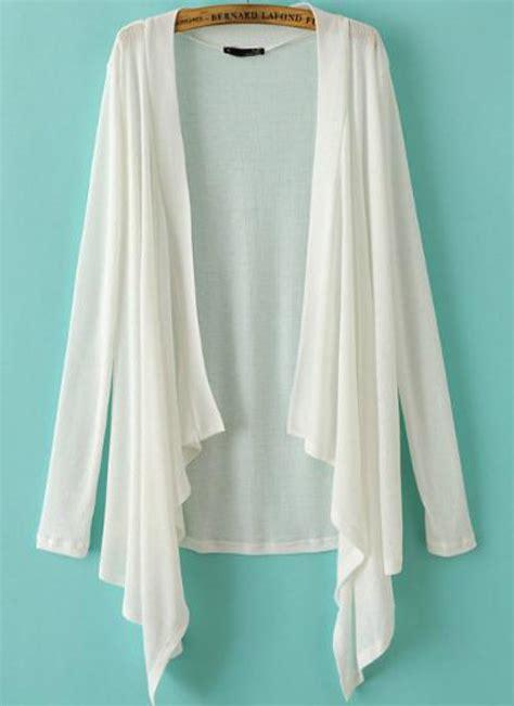 white knitted cardigan white sleeve knit cardigan abaday