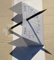 How To Make A Sundial With A Paper Plate - free article and on how to make your own