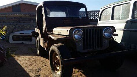 jeep parts el paso year cj 3a el paso tx 1800 ewillys