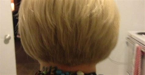 tapered bobs with tail in back short hair tapered bob back view hairstyles