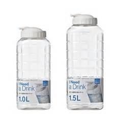 Lock Lock Water Bottle 1 2l water bottle for table plastic tritan pp pet water