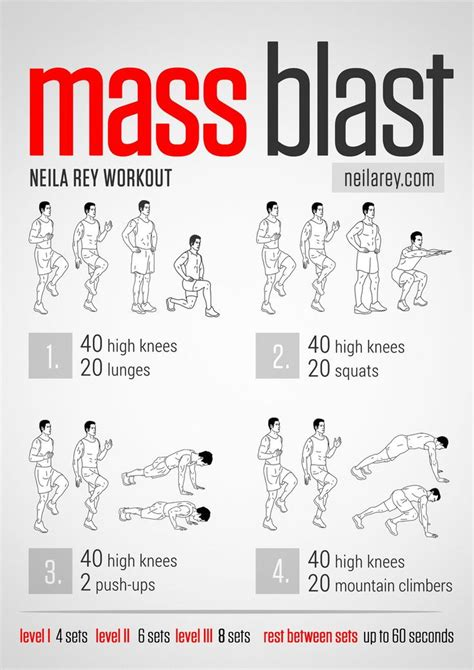 mass blast high burn workout fitness