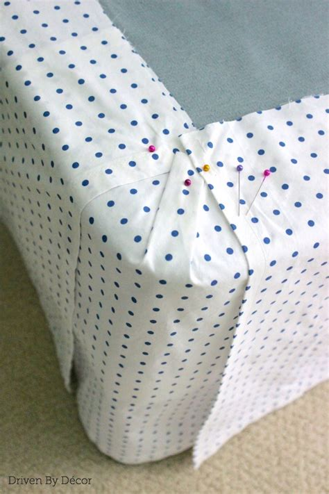 diy bed skirt hometalk diy custom bedskirt from flat sheet