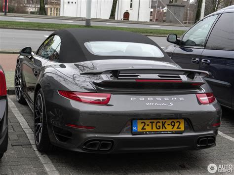 Neupreis Porsche 911 by Porsche 991 Turbo S Cabriolet 25 January 2014 Autogespot