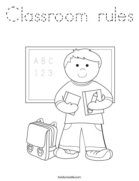 preschool rules coloring pages classroom rules and expectations on early learning