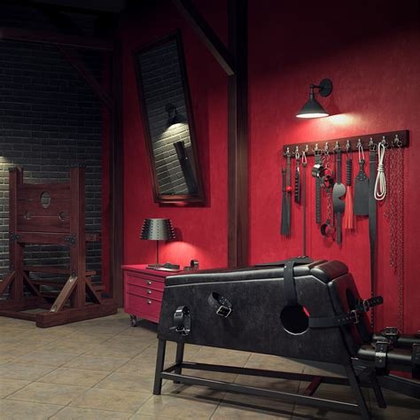 dungeon beds fbx bdsm room furniture