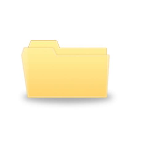 design icon folder windows vista folder icon gimp tutorials