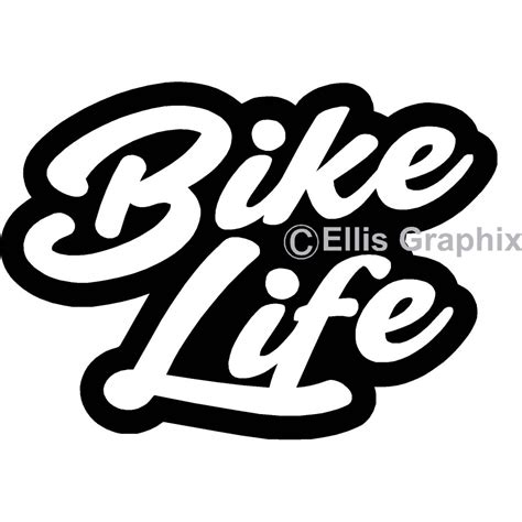 Custom Home Decor Signs by Bike Life Sticker