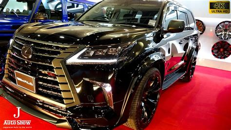wald lexus lx570 4k wald lexus lx570 2017 modified sports line لكزس إل إكس