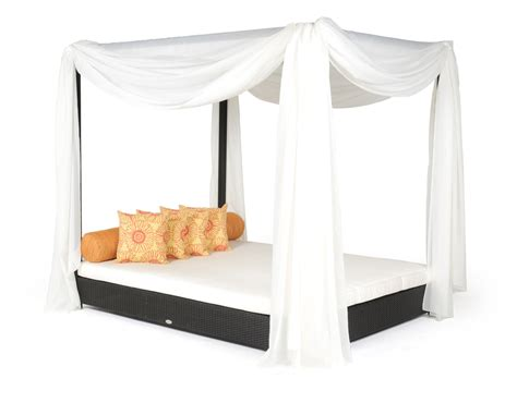 couch canopy outdoor wicker daybed with removable pergola and canopy
