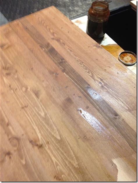 antique wood  tea steel wool  vinegar eco