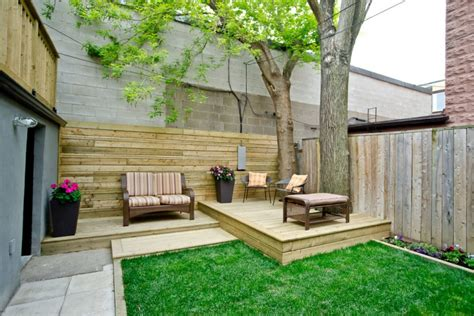Backyard Deck by 18 Small Backyard Designs Ideas Design Trends