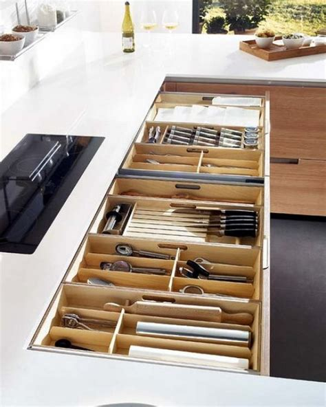 Kitchen Cabinet Organizer Drawers 15 Kitchen Drawer Organizers For A Clean And Clutter