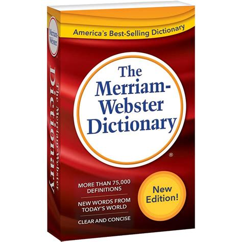 The Merriam Webster Dictionary the merriam webster dictionary mw 2956