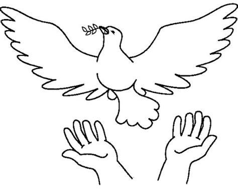 dibujos para colorear de la paloma del espiritu santo espiritu santo para colorear buscar con google dibujos