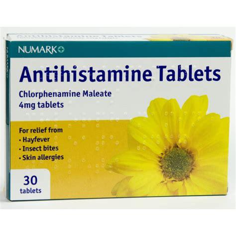 numark antihistamine tablets first 4 meds