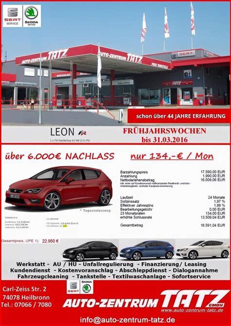 Auto Zentrum Tatz Gmbh Heilbronn by Auto Zentrum Tatz Car Dealership Heilbronn Germany