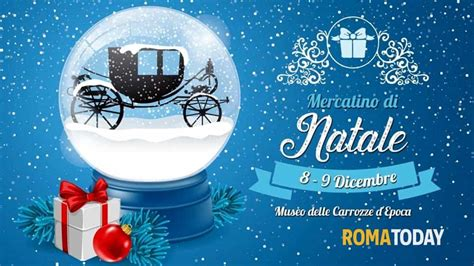 Museo Delle Carrozze Roma Mercatino Di Natale Al Museo Delle Carrozze