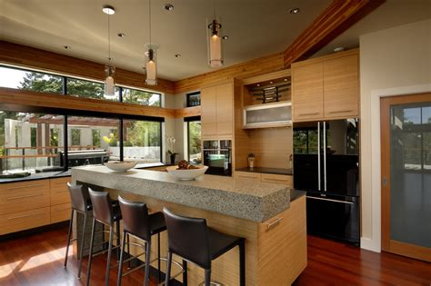 modern kitchen island lighting in canada imposing modern home in victoria british columbia