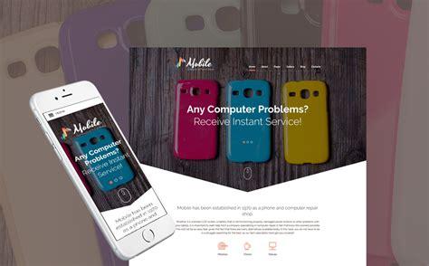 mobile joomla templates mobile phone repairs joomla template