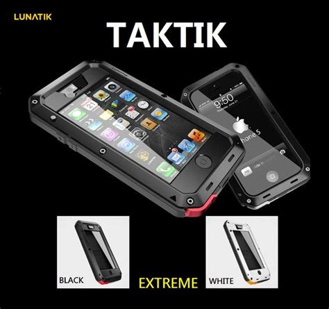 Casing Iphone 4 4s Lunatik Taktik Extrame Hardcase Back Cover B 3 covers pouches lunatik taktik for iphone 4 4s 5 5s and 5g black was sold for