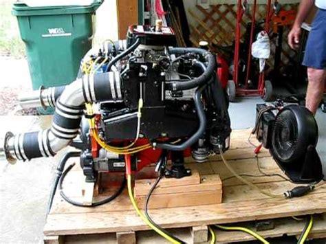350 chevy boat engine 350 sbc marine engine startup youtube