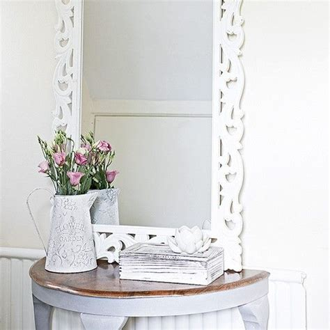 upstairs hallway table with mirrors and plants big 17 best ideas about white mirror on pinterest bedroom