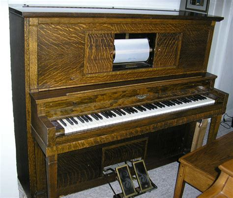 player piano 1916 andrew kohler 55 quot upright player piano