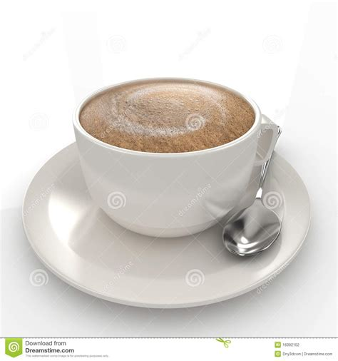 Coffe Time Maxy 3d coffee cup stock photography image 16092152