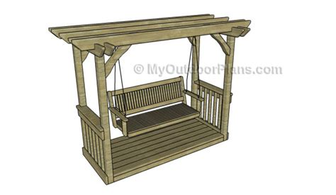 arbor swing plans 8 free arbor plans free garden plans how to build
