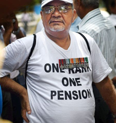government announces one rank one pension for ex good new for ex servicemen centre releases new pensionary