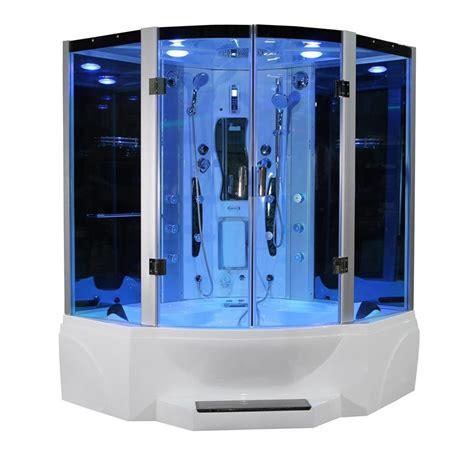 steam shower bathtub 63 quot eagle bath ws 608p steam shower and whirlpool bathtub
